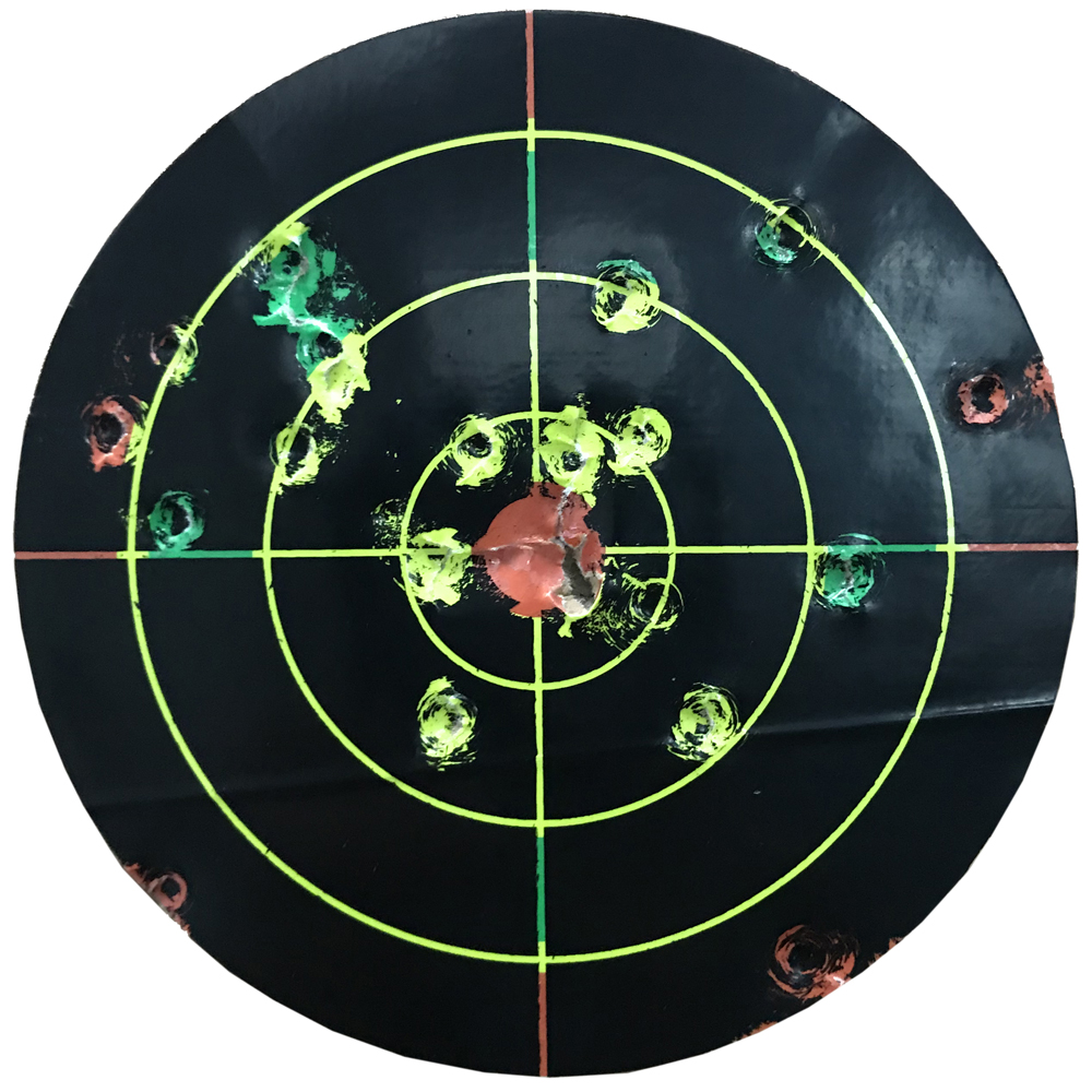 """Image 2 - Gun  Air rifle Shooting targets 8""""X8"""" Triple Colors Reactive & splatter Shooting targets-in Paintball Accessories from Sports & Entertainment"""