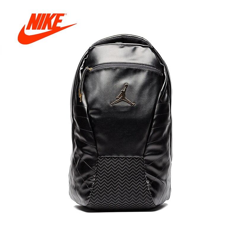 473bf6d28760 Original New Arrival Authentic Nike Air Jordan 12 AJ12 Black Gold Backpacks  Men s   Women s Shoulder