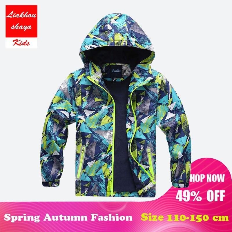 ef90f7e14fcf Aliexpress.com   Buy Liakhouskaya 2018 Children s Boys Jacket Coat ...