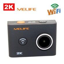 MELIFE i3 WiFi Gyro cámara de Deportes de acción con NTK 96660 interior 4 k 24 fps impermeabilizan la cámara de vídeo Videocámara DV + Muñeca Remoto Control