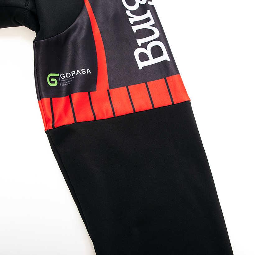 2018 Зима команда BH Новый термальность флис Велоспорт Джерси велосипед брюки для девочек комплект мужские 9D колодки Ropa Ciclismo Одежда Майо