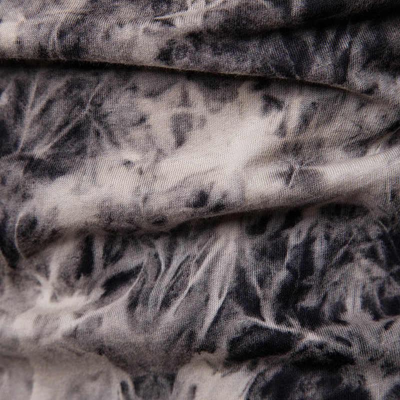 Мужская шотландская Jacobite Ghillie Kilt футболка v-образный вырез с длинным рукавом галстук сухой принт мужской черный на шнуровке футболки хипстерская уличная одежда Homme