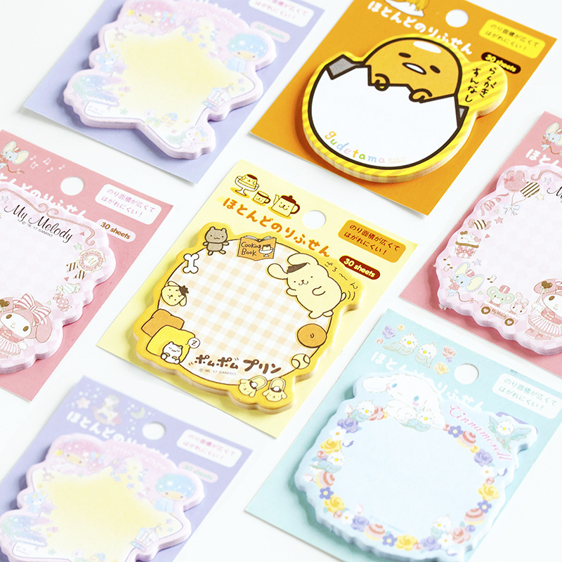 30 Sheets/pad Cute Puppy Garland Bookmark Flag Tab Index Page Marker Sticky Notes