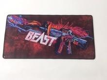 Hyper Gun Beast Mouse Pad