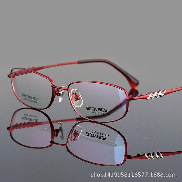 Превышать Pure Titanium Полный Кадр Кадр Алмаз Классический Фонд Превышает Удобные Близорукие Глаз Фоторамка D 81518