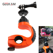 Bike Mounting Bike Trip Holder with 360 Rotate Tripod Heads action camera go pro accessories For action camera go pro