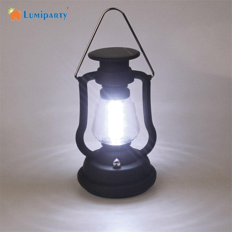 Lumiparty Portable Dynamo solar light Hand Crank Manual Charge emergency light night light camping lantern outdoor lighting цена
