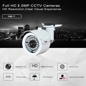 Image 3 - Keeper HD 2MP AHD מצלמה בחדות גבוהה מעקב אינפרא אדום 1080P אבטחת CCTV חיצוני Bullet עמיד למים מצלמות