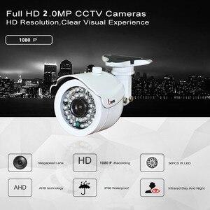 Image 3 - 키퍼 hd 2mp ahd 카메라 고화질 감시 적외선 1080 p cctv 보안 야외 총알 방수 카메라
