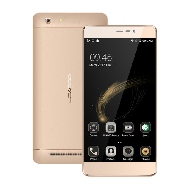 New Leagoo Shark 5000 Smartphone 5000mAh Battery Android 6.0 MT6580 OTG 13MP Camera 5.5 Inch Fast Charge Power Bank Mobilephone