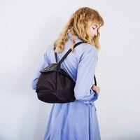 2 in 1 Simple Fashion Backpack for Girl 2019 Soild Color Shoulders Bag Women Travel Backpacks Large Capacity School Bags