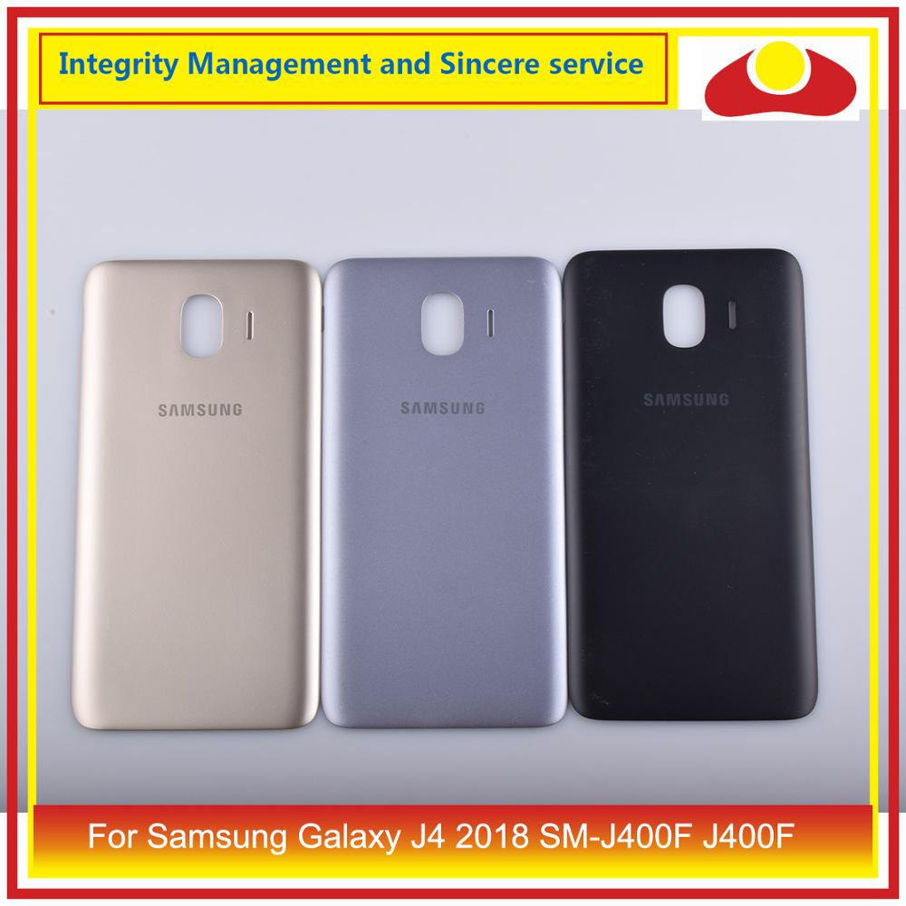 Original For Samsung Galaxy J4 2018 SM J400F J400 J400F Housing Battery Door Rear Back Cover Case Chassis Shell Replacement-in Mobile Phone Housings & Frames from Cellphones & Telecommunications