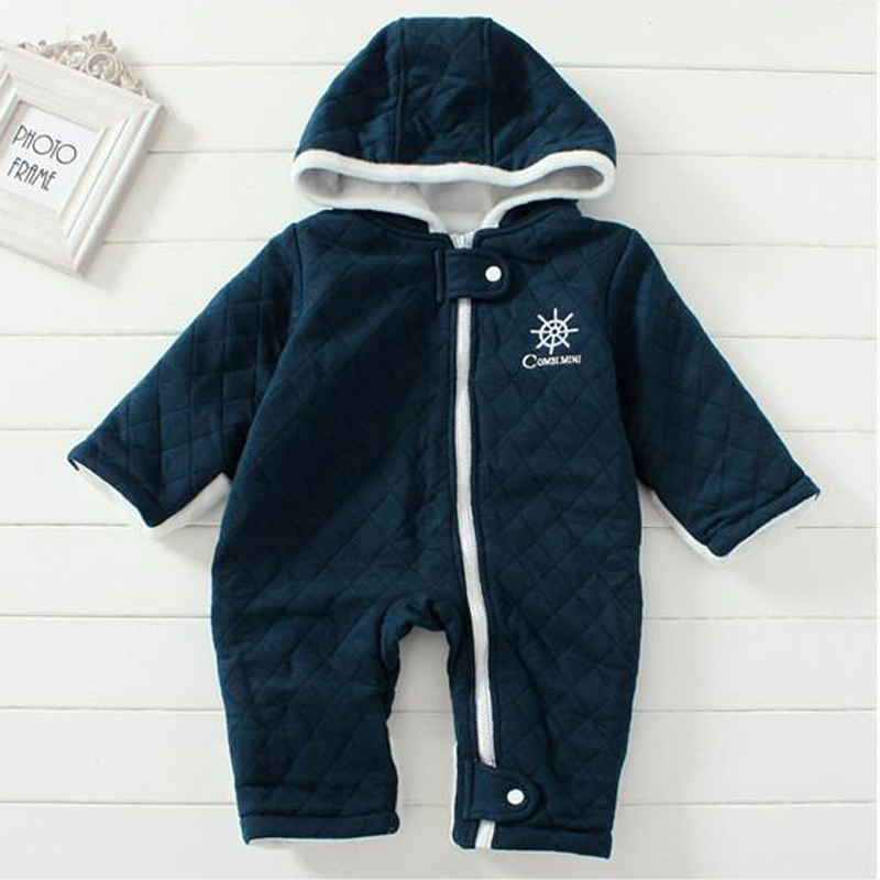 New-Autumn-Winter-Baby-Coveralls-Thicken-Cotton-padded-Baby-Girl-Clothes-Casual-Solid-Baby-Rompers-High-Quality-Baby-Boy-Clothes-2