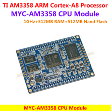 MYC-AM3358 CPU Module TI AM3358 Development Board (1GHz,512MB RAM,512MB Nand Flash 6x UART 2x SPI 3x I2C 2x CAN 8x Timers)