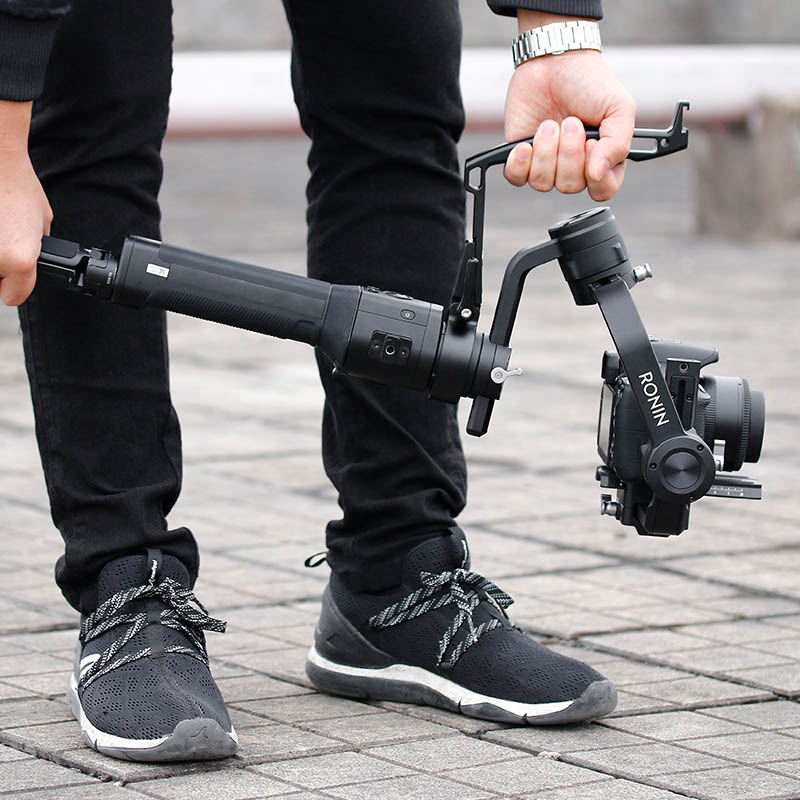 Gimbal Inverted Handle Sling Grip Neck Ring Mount Extension Arm Holder For DJI Ronin S Dropshipping