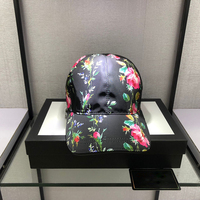 Luxury Men Women Plain Curved Sun Visor Baseball Cap brand Hat Solid Color Fashion Adjustable Caps Leather Flower girl sun hat