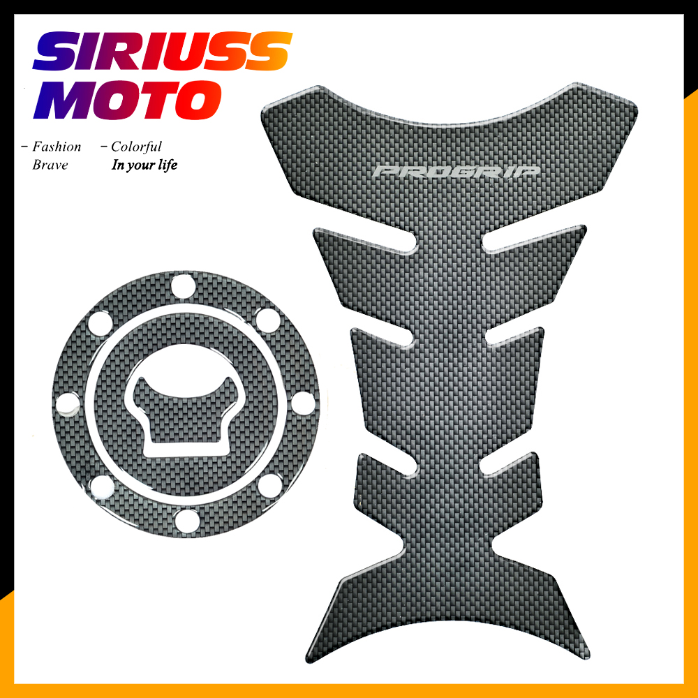 3D Carbon-look Motorcycle Tank Protector Gas Cap Decals Case For Suzuki GSX600F GSX750F 1998-2001 GS600F 2000-2001
