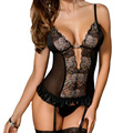 RL80317 New design high quality plus size babydoll lace patchwork transparent baby doll sexy lingerie new sexy erotic lingerie