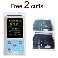 ABPM50 CE FDA Approved 24 hours Patient Monitor Ambulatory Automatic Blood Pressure NIBP Holter with USB cable & software