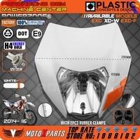 Reflektor Powerzone White Mix zabrudzenia motocyklowe Motocross uniwersalny do KTM SX EXC XCF SXF SMR 2014 16 reflektor Enduro na