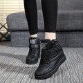 Gtime transpirable mujeres zapatos del top del alto de las mujeres ocasionales zapatos de plataforma zapatos de invierno de las mujeres de la felpa botas ocultos aumentar # fxs005 #