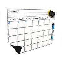 마그네틱 주간 학습 계획 모바일 화이트 보드 크리 에이 티브 글쓰기 냉장고 화이트 보드 스티커 캘린더 스티커 a3 크기