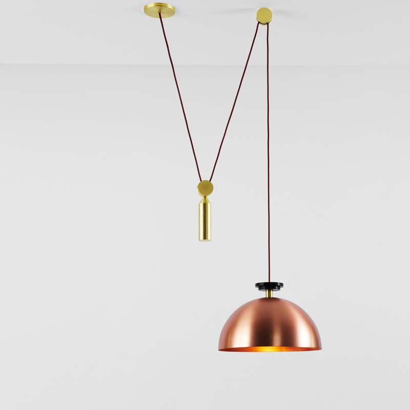 Nordic lamps Creative After Modern Lifting Pulley Illuminating Living Room Dining Room E27 Pendant Light Suspension Luminaire nordic modern 6 arm pendant light creative stainless steel hanging lamps lifting rod foliving room dining room lamp home decor