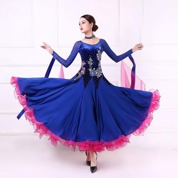 977631a60a Personalizada de alta calidad de las mujeres de baile vestido de competencia  estándar vestidos de danza moderna tango vals vestido de baile