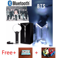 KPOP Bangtan Boys Bomb Light Stick Official Ver.3 With Bluetooth Original Lightstick Free Gift Cover LOMO Card