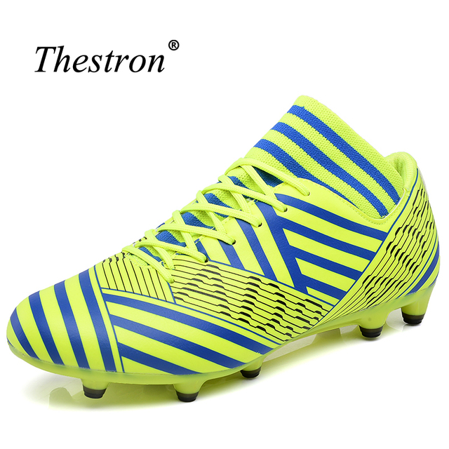 5d677cf0518 Thestron Soccer Shoes Indoor Men Fg Cheap Mens Football Cleats New Cool  Shoes Football Kids Colorful Mens Football Boots