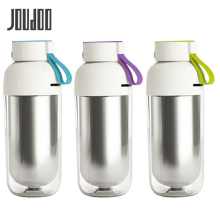 JOUDOO Double Wall Stainless Steel 425ML Bottles Heat Insulation Portable Leakproof Water Tour Outdoor Drinkware 35