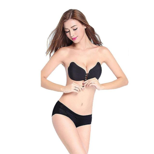 ab29753331b68 Mooistar  3066D Women Sexy Strapless Instant Breast Lift Invisible Silicone Push  Up Mango Bra