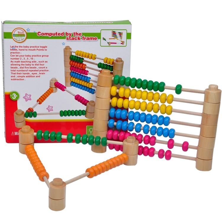 1 stück kinder kind holzmathematikspielzeug berechnet durch den ...