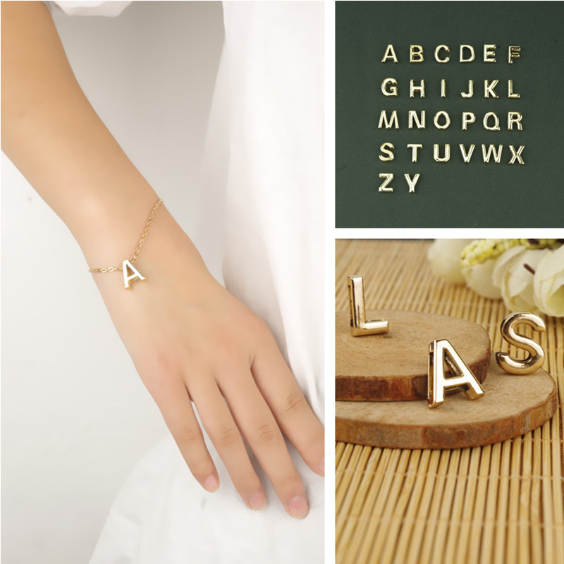 Simple Lovely English Alphabet Bracelet Like