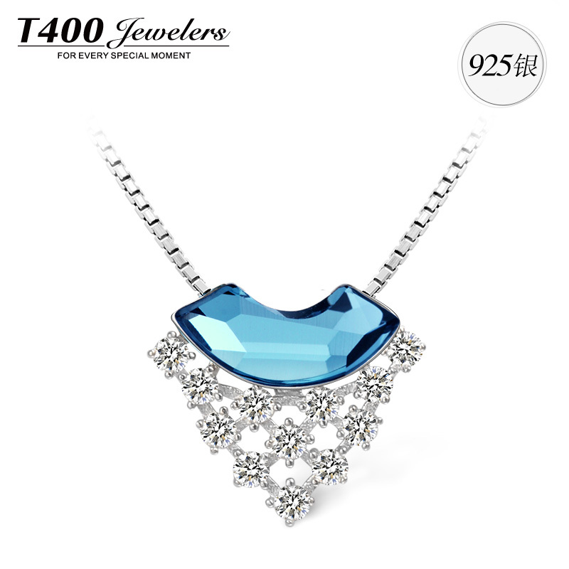 18th Birthday Cz T Bar Sterling Silver Heart Bracelet Can: T400 Best Birthday Gifts Fashion Silver Crystal Pendant