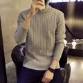 winter Turtleneck Sweater Slim Fit Solid Men Knit Cashmere Pullovers And Sweaters For Men thick sweatercoat plus size 5XL