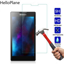 Tempered Glass For Lenovo Tab 2 A7-10 A7-10F A7-20 A7-20F A7-30 A7-30HC A7-30DC Tab2 A7 20 30 Screen Protector Tablet Film(China)