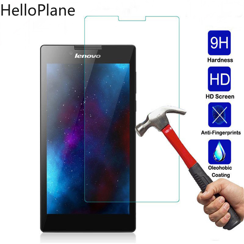 Tempered Glass For <font><b>Lenovo</b></font> Tab 2 <font><b>A7</b></font>-10 <font><b>A7</b></font>-<font><b>10F</b></font> <font><b>A7</b></font>-20 <font><b>A7</b></font>-20F <font><b>A7</b></font>-30 <font><b>A7</b></font>-30HC <font><b>A7</b></font>-30DC <font><b>Tab2</b></font> <font><b>A7</b></font> 20 30 Screen Protector Tablet Film image