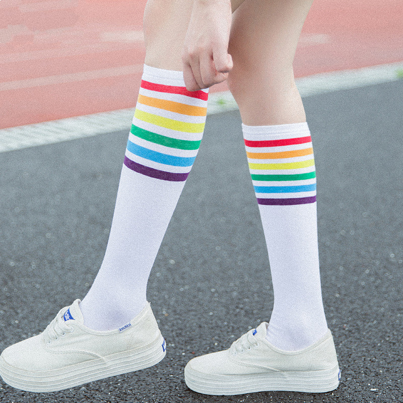 Underwear & Sleepwears Autumn And Winter Cotton Socks Japanese School Wind Two Bar Cotton Socks Parallel Thread Business Popular Logo Mens Socks Keep You Fit All The Time
