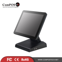 Free Shipping Fanless Pos 15 Inch Touch Monitor EPos Device Cheap Pos Machine For Africa Market