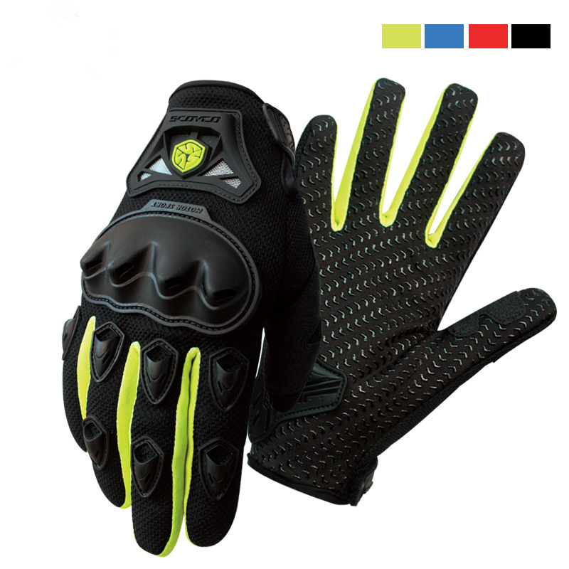 SCOYCO Motorrad Handschuhe Sommer Atmungs Tragbare Schutz Guantes Moto Luvas <font><b>Alpine</b></font> Motocross Sterne Gants Moto Verano guant image