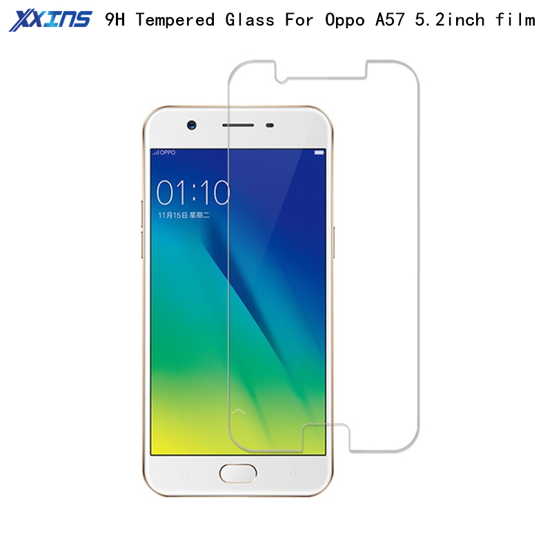 9H Tempered Glass For OPPO A57 High definition Screen Protect Mobile Phone Toughened Protective Film 5.5 inch