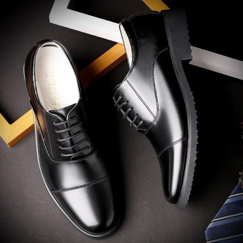 Mariage Robe 46 De Luxe Formelle Grande Mocassins Automne Printemps Taille 38 Chaussures D'affaires Noir Pointu Hot Hommes xqZ0YX8W