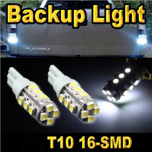 100X wholesale T10 16 leds Car 168 194 W5W 16SMD White 16 SMD car light 1210 3528 LED Wedge Light Bulb Lamp 12V free shipping