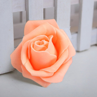 PHFU wholesale 10PCS 100PCS Foam Rose Flower Bud Wedding Party Decorations Artificial Flower Diy