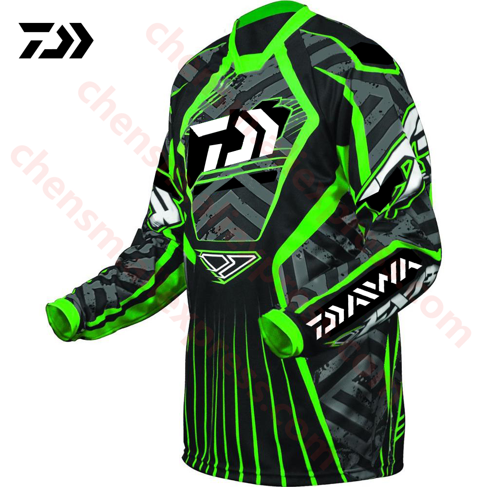 2019 New DAIWA Quick Drying Fishing Clothing Long Sleeve Sunscreen Anti-uv Breathable Summer Fishing Shirt Autumn Fishing Jersey