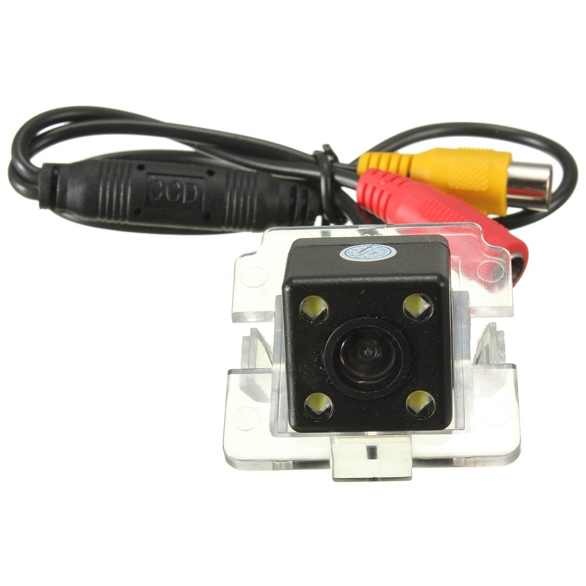 HD 4LED CCD Night Vision Parking Car Backup Rear View Rearview Camera For Mitsubishi Outlander ...