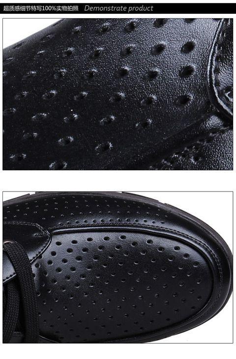 Mocasines Brown Los 100 Cuero Zapatos Negocio Conducción Respirable Ocasional Más black Del Hombres Genuino Negocio Tamaño De Suaves a6aqEUWw