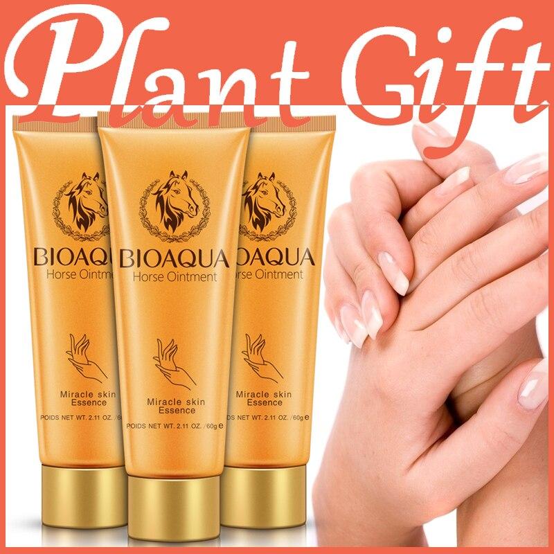 Miracle Horse Oil Cream 3 pack and hand care moisturizing moisturizing Scrub