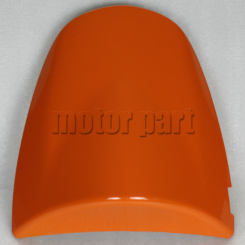 For Kawasaki ZX6R ZX 6R 2003 - 2004 / Z750 Z1000 Z 750 1000 2003 - 2006 Motorcycle Rear Passenger Seat Cover Cowl Orange 05 06 for 2009 2014 kawasaki zx6r zx 6r 636 motorcycle rear passenger seat cover cowl green black 09 10 11 12 13 14